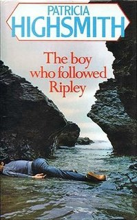 <i>The Boy Who Followed Ripley</i> novel by Patricia Highsmith