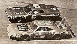 1971 Daytona 500 Auto race held at Daytona International Speedway in 1971