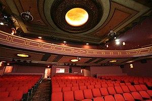 Poncan Theatre - Theater auditorium showing the balcony circa 2007