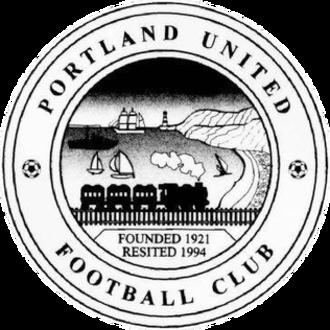 Portland United F.C. - Image: Portland United Dorset FC