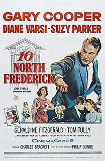 <i>Ten North Frederick</i> (film) 1958 film by Philip Dunne