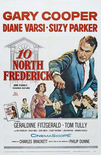 Ten North Frederick (film) - Film poster