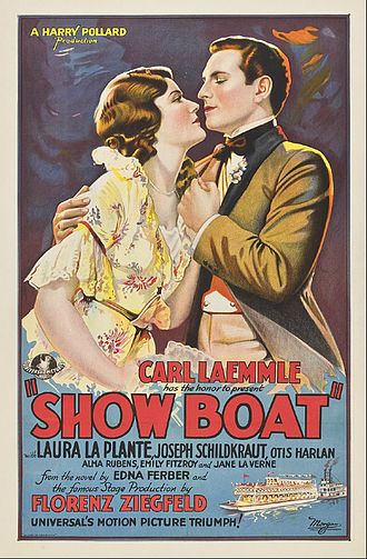Show Boat (1929 film) - Image: Poster of Show Boat (1929 film)