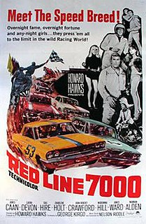 <i>Red Line 7000</i> 1965 film by Howard Hawks