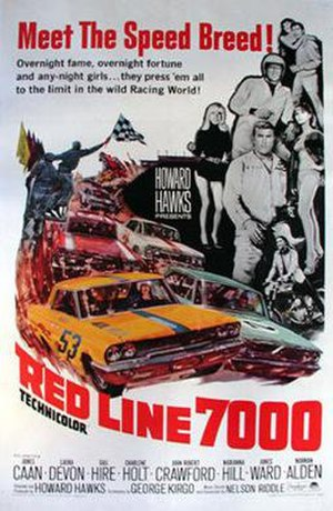 Red Line 7000 - Image: Poster of the movie Red Line 7000