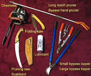 Pruning tools utilized by a pruning and tree-s...