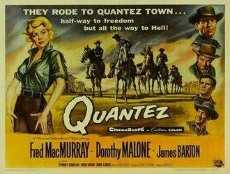 Quantez - Film poster by Reynold Brown
