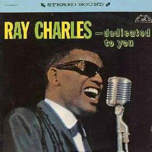 Dedicated to You (Ray Charles album) - Image: Ray Charles Dedicated To You