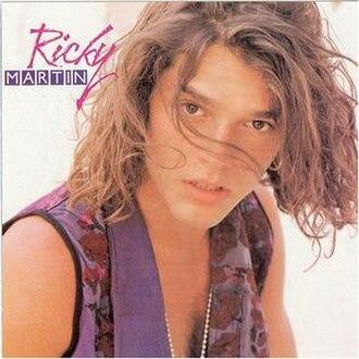 Ricky Martin (1991 album) - Image: Rickymartinalbum 1991
