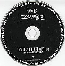 Rob Zombie Let It All Bleed Out.JPG