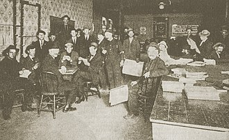 Socialist Party of Oregon - Headquarters of Local Portland, Socialist Party in December 1910.