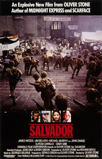 Salvador (film) - Theatrical release poster