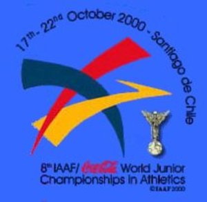 2000 World Junior Championships in Athletics - Image: Santiago 2000logo
