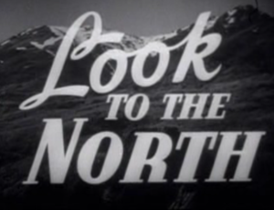 Look to the North - Screenshot of the opening title