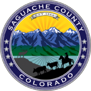 Saguache County, Colorado - Image: Seal of Saguache County, Colorado