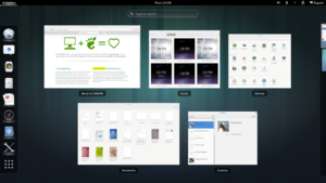 "Shows Overview mode (""Activities"") in GNOME 3.8.png"