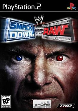 WWE SmackDown! vs. Raw - US Box art for the game, featuring Vince McMahon.