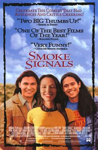 Smoke Signals (film) - Theatrical release poster