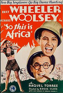<i>So This Is Africa</i> 1933 film by Edward F. Cline