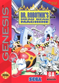 Box of Dr. Robotnik's Mean Bean Machine