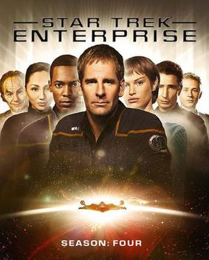 Star Trek: Enterprise (season 4) - Image: Star Trek ENT S4 Blu ray