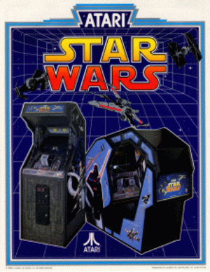 Star Wars (1983 video game) - Image: Starwars arcade