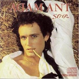 Strip (Adam Ant album) - Image: Strip Adam Ant