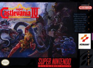 Super Castlevania IV - Image: Super Castlevania IV North American SNES box art