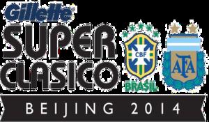2014 Superclásico de las Américas - Image: Superclasico 2014