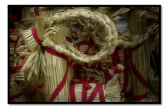 Corn dolly - A Swedish Christmas goat or Yule goat.