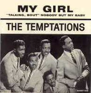 My Girl (The Temptations song) - Image: Tempts mygirl cover