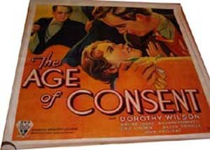 The Age of Consent (film) - Image: The Age Of Consent 1932