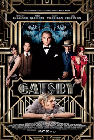 The Great Gatsby (2013 film) - Theatrical release poster