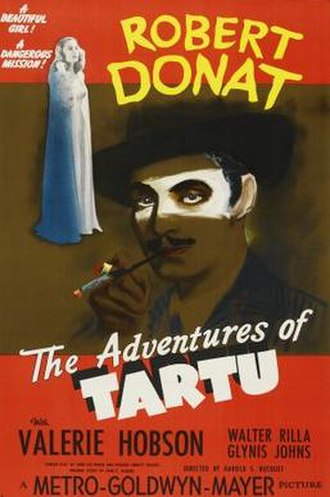 The Adventures of Tartu - Image: The Adventures of Tartu Film Poster