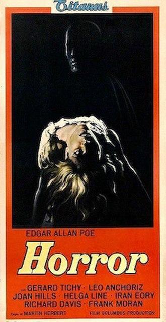 The Blancheville Monster - Italian film poster for The Blancheville Monster
