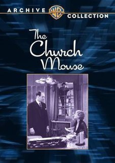 <i>The Church Mouse</i> 1934 film by Monty Banks