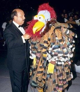 The Gobbledy Gooker Former mascot of the World Wrestling Federation