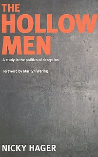 <i>The Hollow Men</i> (book) book by Nicky Hager