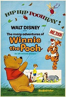 <i>The Many Adventures of Winnie the Pooh</i> 1977 American animated anthology film produced by Walt Disney Productions