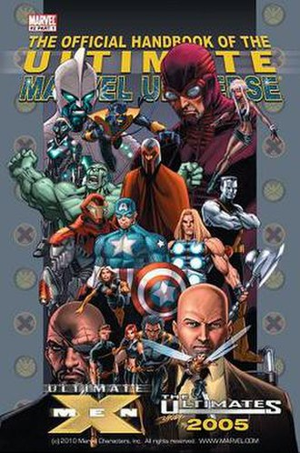 Ultimate Marvel - Image: The Official Handbook of the Ultimate Marvel Universe