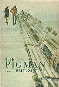<i>The Pigman</i> novel by Paul Zindel