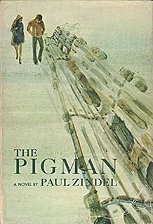 <i>The Pigman</i> novel by Paul Zindel
