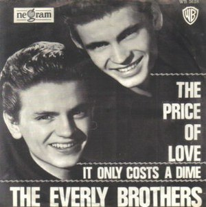 The Price of Love - Image: The Price of Love Everly Brothers