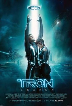 Tron: Legacy - Theatrical release poster