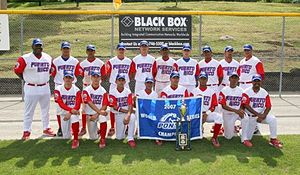 Ed Correa - Correa and his team in the 2007 Pony League World Series