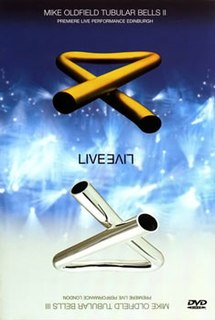 <i>Tubular Bells III Live</i> 1998 video by Mike Oldfield