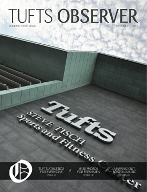 The Tufts Observer - The Tufts Observer, October 1, 2012