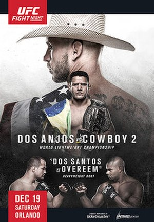 UFC on Fox: dos Anjos vs. Cerrone 2 - Image: UFC on FOX 17 pre sale