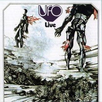 Live (UFO album) - Image: Ufo live in japan cover