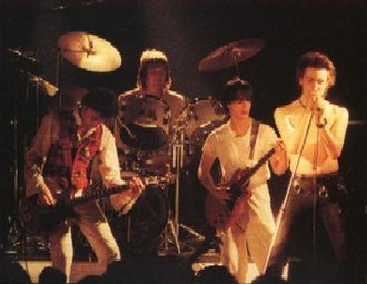 Sid Vicious - Vicious performing with his short-lived punk group Vicious White Kids